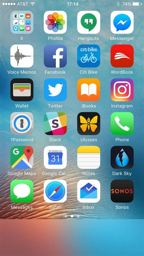 iphone screen app the minimalist iphone home screen business insider