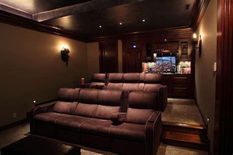 Home Theater Room Designs With Exemplary Home Theater