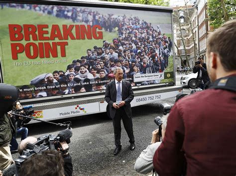 nigel farages anti immigrant poster reported  police  claims  incites racial hatred