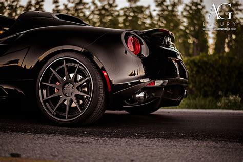 Alfa Romeo Wheels by Ag Luxury Wheels Alfa Romeo 4c Forged Wheels