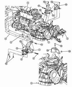 Chrysler Town  U0026 Country Bracket  Transmission Support