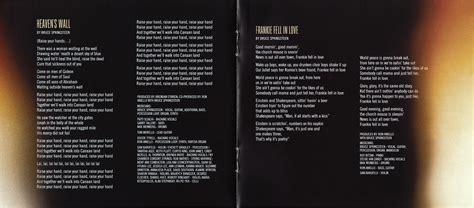 Testi E Traduzioni Coversandlyrics High Hopes Bruce Springsteen