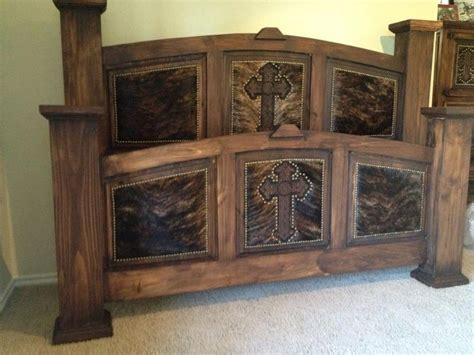 dream bed  cowhide western furniture