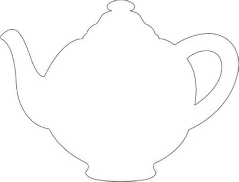 teapot template mothers day teapot card template im a teapot craft templates food and drink