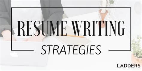 Resume Writing Tool by Resume Writing Strategies From A Career Coach S Tool Kit
