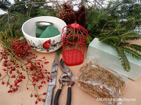 How To Make A Fresh Evergreen Centerpiece For Christmas Trends In Kitchen Lighting Modern Bathroom Home Depot Light Fixtures For Spot Lights Canada Best Recessed Bulbs Kitchens Green Tiles
