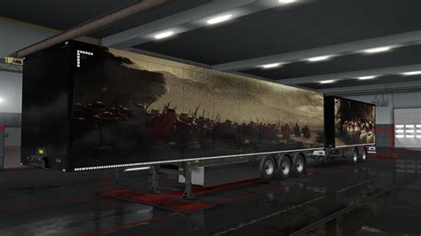 mythologie trailer skins  ets euro truck simulator