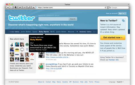 Twitter Ganha Nova Página Inicial Tecnoblog