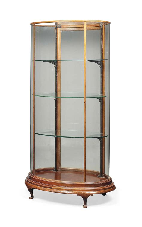 kitchen glass cabinets an edwardian mahogany oval display cabinet early 20th 1766
