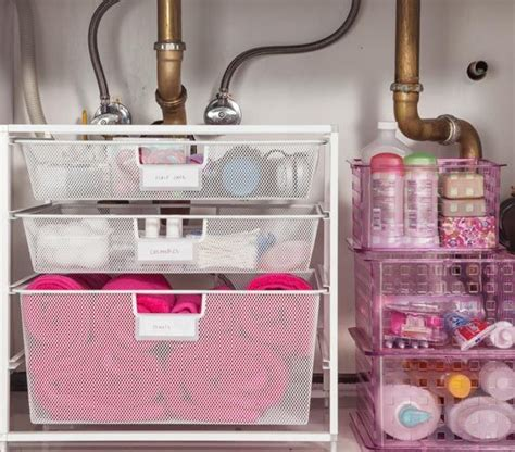 kitchen sink storage ideas easy under the sink storage ideas sinks cosmetics and bathroom