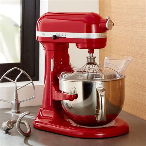 kitchenaid pro  empire red stand mixer reviews