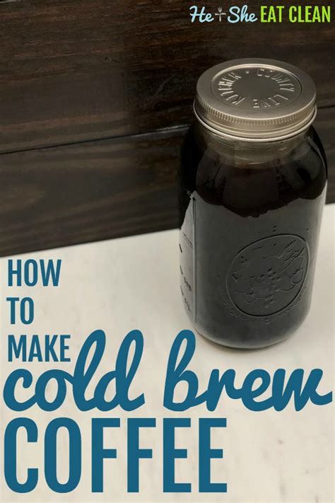 Harder to clean and requires special brush. How to Make Cold Brew Coffee