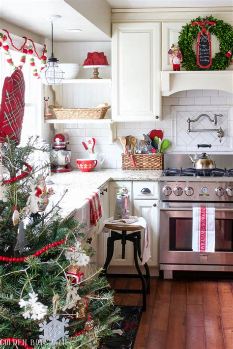 kitchen christmas decorations diy kitchen christmas