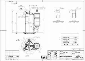 Compressor Hermetic Rotary Da250s2c