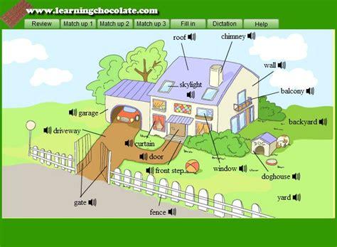 House Vocabulary Englishguideorg