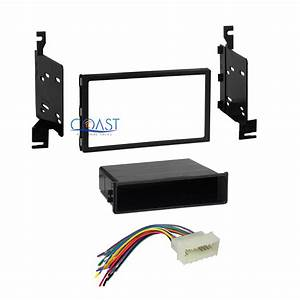 Car Radio Stereo Din 2 Din Dash Kit Wire Harness For 2007