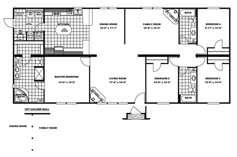 manufactured home floor plan 2008 clayton ardmore 5