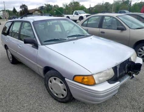 cheap fixer upper car     ford escort lx wagon
