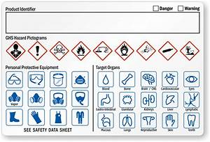ghs ppe symbols With ghs secondary label requirements