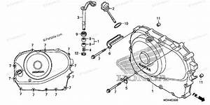 Honda Motorcycle 2010 Oem Parts Diagram For Right Crankcase Cover