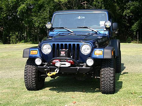 Jeep Winch Bumpers  Jk Tj Yj Front Bumpers