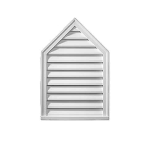 Decorative Gable Vents Canada by 24 Inch X 1 5 8 Inch Polyurethane Decorative Louver