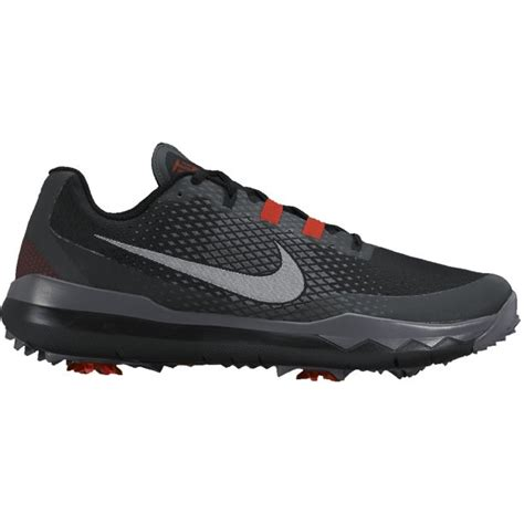 Nike TW '15 Tiger Woods Men's Golf Shoes - Black - Walmart ...