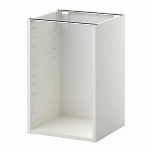 Tv Unterschrank Ikea : metod korpus unterschrank 40x37x60 cm ikea ~ Watch28wear.com Haus und Dekorationen