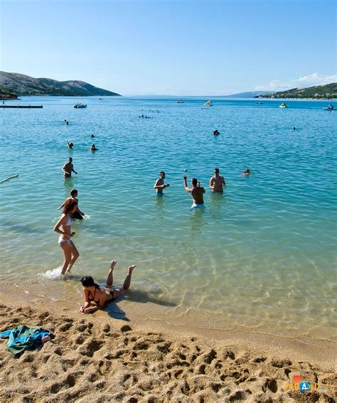 Beach Stara Novalja Island Of Pag Croatia Adriatic