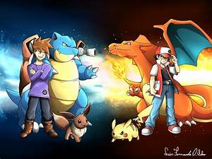 Pokemon 20 years Red VS Blue