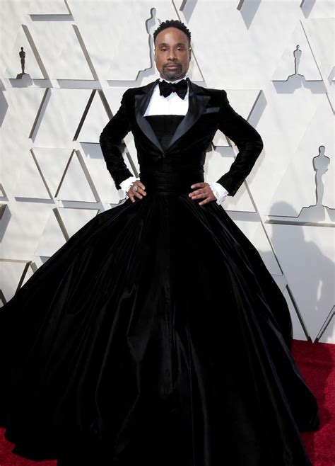 Billy Porter Says Wore Tuxedo Gown The Oscars