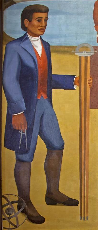 Benjamin Banneker Wikipedia Born Mural Tif 1806