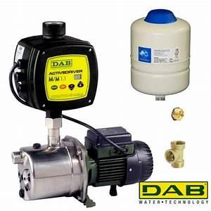 Pompe A Eau Surpresseur : dab euroinox 40 80m dab active driver pompe ~ Dailycaller-alerts.com Idées de Décoration