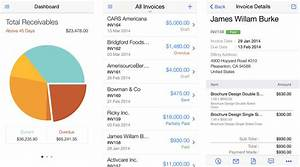 Best invoicing apps for iphone ditch paper and get paid for Best time tracking and invoicing app