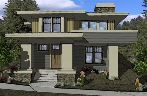 muddy river design prairie style house plan northwest crossing   home prairie