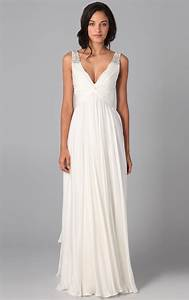 Long white dresses for women Photo