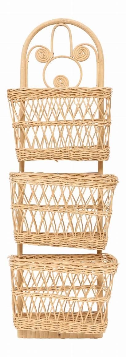 Basket Wicker Letter Holder Baskets Chairish