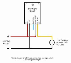 Day Night Switch Wiring Diagram