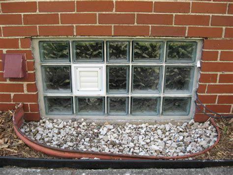 Doors & Windows  Glass Block Basement Windows