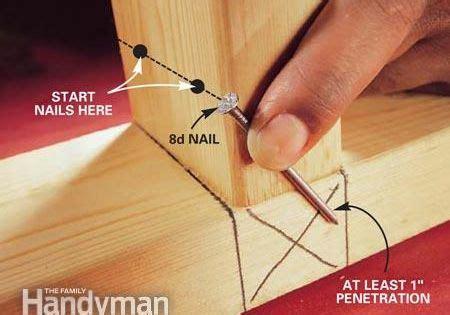 toenailing basics read  carpentry   ojays