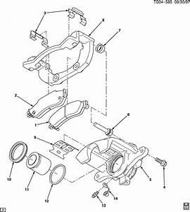 2001 Chevrolet Blazer Bracket  Wheel Brake Cylinder