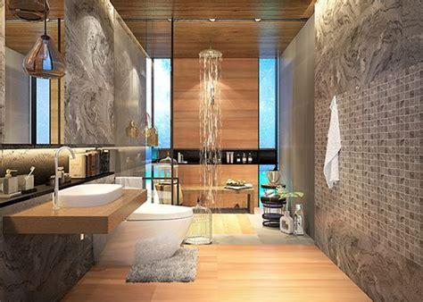 แบบห้องน้ำ ลายไม้และลายหินธรรมชาติ ไอเดียแต่งห้องน้ำ แบบ ...