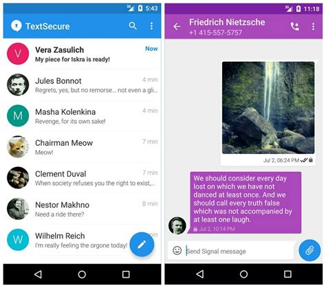 messenger app android 9 best free texting apps for android androidpit