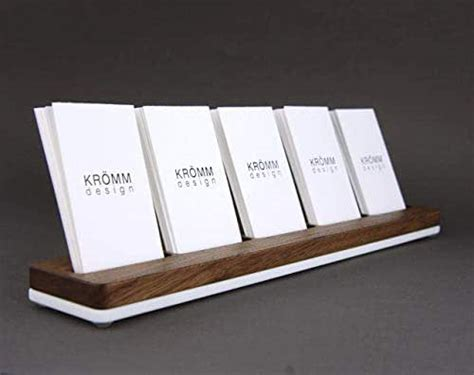 Premium cards printed on a variety of high quality paper types. Amazon.com: Wood Multiple Vertical Business Card Stand, 5 ...