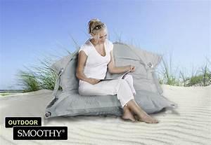 Outdoor Sitzsack Xxl : smoothy sitzsack outdoor supreme in stein grau ~ Markanthonyermac.com Haus und Dekorationen