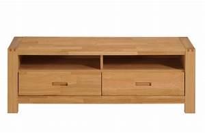 Meuble Tv En Chene : meuble tv ethan chene huile ~ Teatrodelosmanantiales.com Idées de Décoration