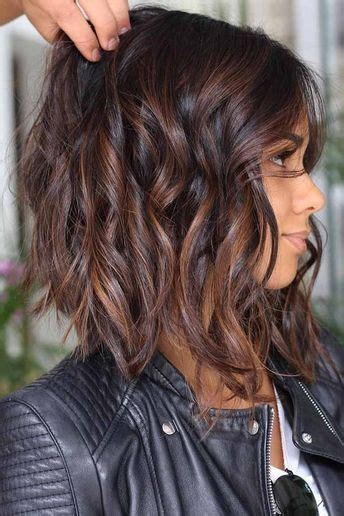 incroyable idee coupe cheveux mi long coiffure simple