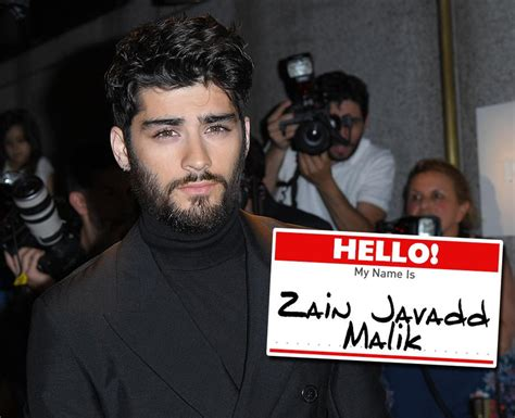 malik zayn names pop stars icons music