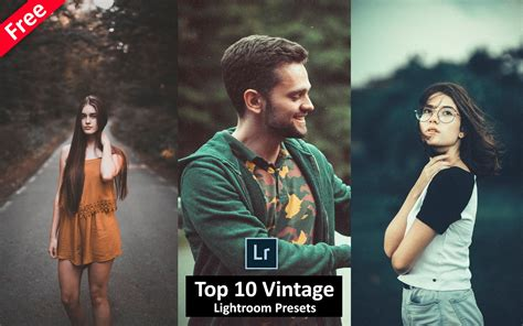 All lightroom presets are included in xmp , lrtemplate and dng format to ensure maximum compatibility and flexibility across platforms and devices. Download Top 10 Vintage Lightroom Presets for Free   How ...