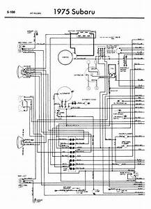 Subaru 1975 Models Wiring Diagrams